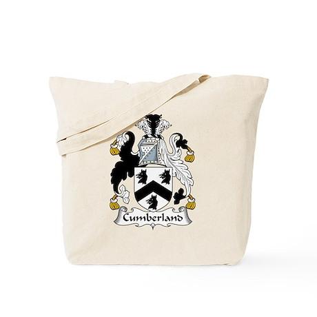 Cumberland Family Crest Tote Bag