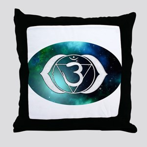 3rd Eye Chakra Throw Pillow