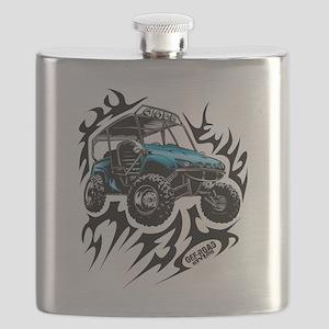 UTV Side-X-Side Flame On Flask
