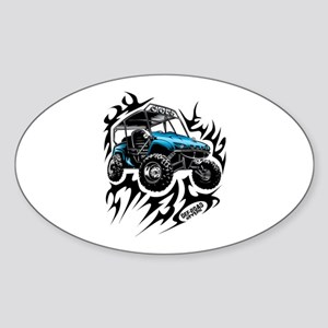 UTV Side-X-Side Flame On Sticker