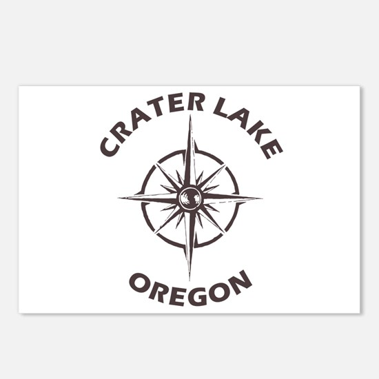 Crater Lake - Oregon Postcards (Package of 8)