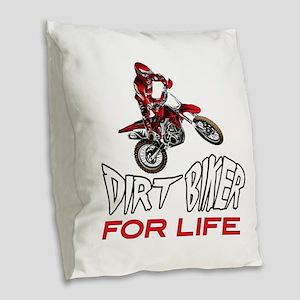Enduro For Life Burlap Throw Pillow