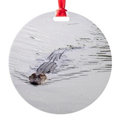 Brandon FL Pond Alligator Ornament