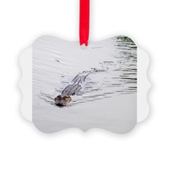 Brandon FL Pond Alligator Ornament