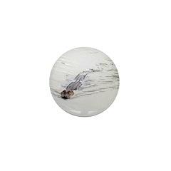 Brandon FL Pond Alligator Mini Button (10 pack)
