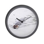 Brandon FL Pond Alligator Wall Clock