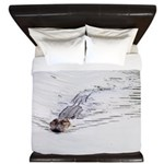 Brandon FL Pond Alligator King Duvet