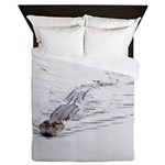 Brandon FL Pond Alligator Queen Duvet