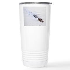 Brandon FL Pond Alligator Travel Mug
