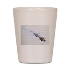 Brandon FL Pond Alligator Shot Glass