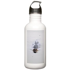 Brandon FL Pond Alligator Water Bottle