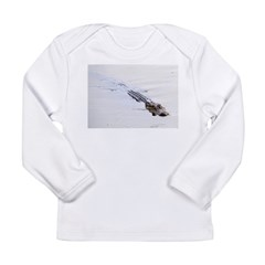 Brandon FL Pond Alligator Long Sleeve T-Shirt