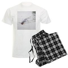 Brandon FL Pond Alligator Pajamas