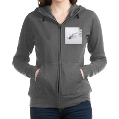 Brandon FL Pond Alligator Women's Zip Hoodie