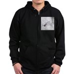 Brandon FL Pond Alligator Zip Hoodie