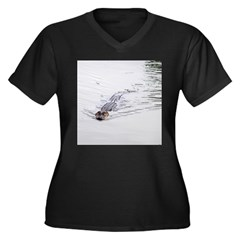 Brandon FL Pond Alligator Plus Size T-Shirt