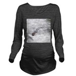 Brandon FL Pond Alligator Long Sleeve Maternity T-