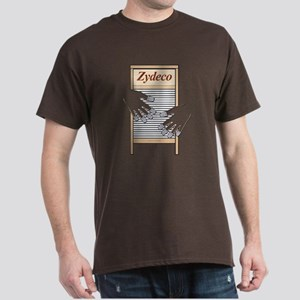 Zydeco Washboard Dark T-Shirt