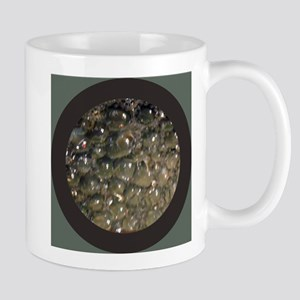 bubbles in circle inside dark circle Mugs