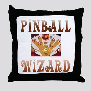 Pinball Wizard Throw Pillow
