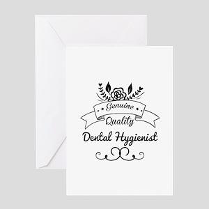 Cute Genuine Quality Dental Hygienis Greeting Card