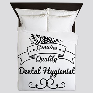 Cute Genuine Quality Dental Hygienist Queen Duvet