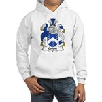 Cotton Family Crest Hooded Sweatshirt