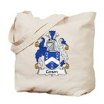 Cotton Family Crest Tote Bag