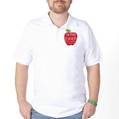 I Support Teachers Golf Shirt