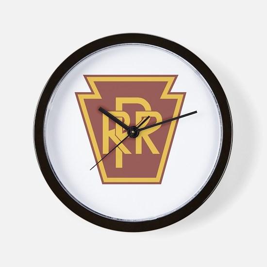 Pennsylvania Railroad Logo Wall Clock