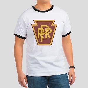 Pennsylvania Railroad Logo Ringer T