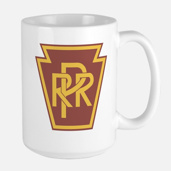 Pennsylvania Railroad Logo Large Mug
