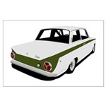 Lotus Cortina Mk1 Large Poster