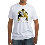 Corben Family Crest  Fitted T-Shirt