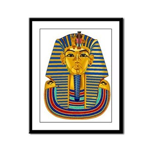 Tut Decor Set Framed Panel Print