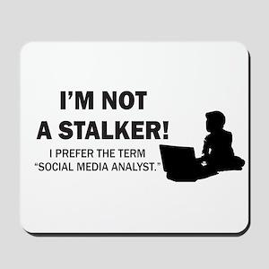 Social Media Analyst Mousepad