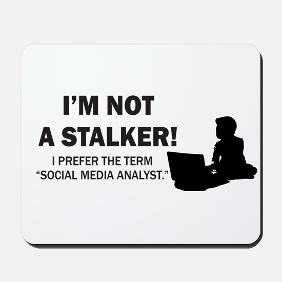 Social Media Analyst Mousepad