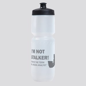 Social Media Analyst Sports Bottle