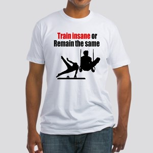 FIERCE GYMNAST Fitted T-Shirt