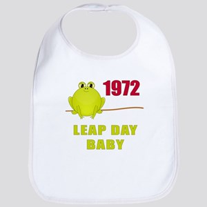 1972 Leap Year Baby Bib