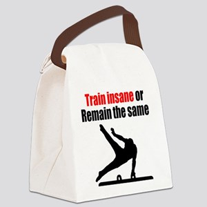 FIERCE GYMNAST Canvas Lunch Bag