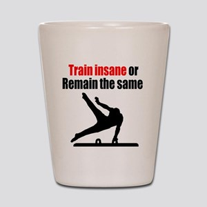 FIERCE GYMNAST Shot Glass