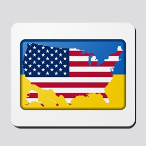 Ukrainian-American Mousepad