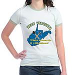 WV Women Jr. Ringer T-Shirt