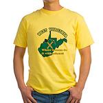 WV Women Yellow T-Shirt
