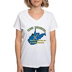 WV Women Women's V-Neck T-Shirt