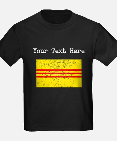 Old South Vietnam Flag (Distressed) T-Shirt