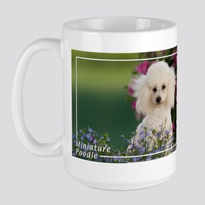 Miniature Poodle-4 Large Mug