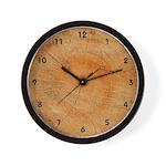 End Of Log Wall Clock