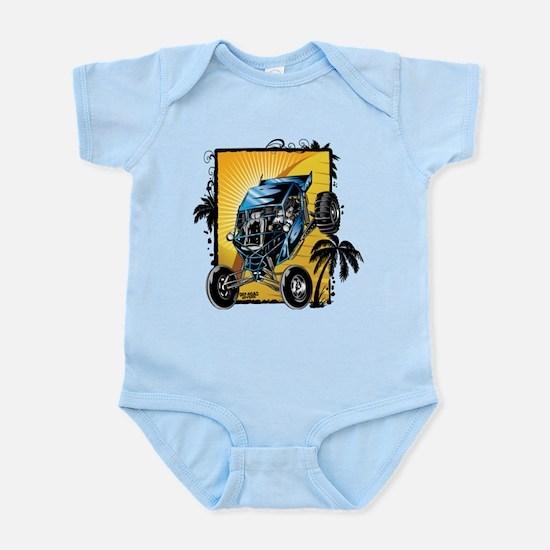 Blue Dune Buggy Body Suit